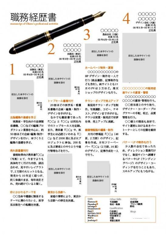 職務経歴書_参照用