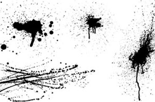 1.Splatters-vectors