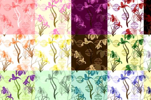 10-iris-pattern-pack-freebie