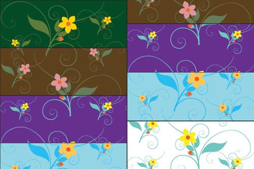 18-free-illustrator-flowers-vector-patterns