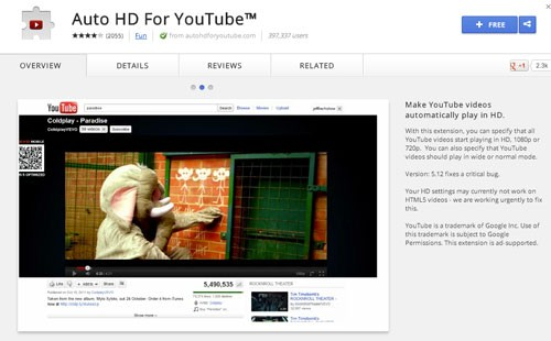Auto-HD-For-YouTube