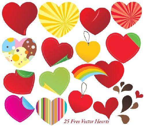 074-free-vector-hearts-illustrator