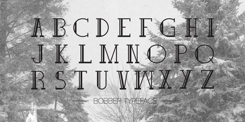 22-bobber-typeface