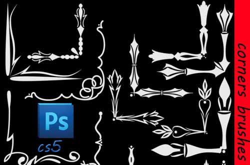 33.photoshop-corner-brushes
