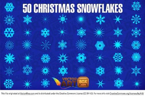 クリスマス用の無料デザイン素材141:ベクターイラスト、パターン、ブラシ、フォント、アイコン