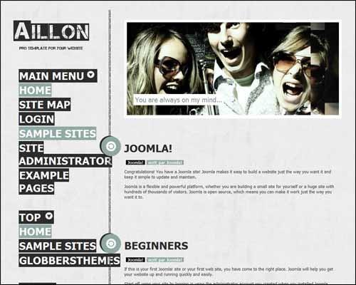 Aillon_Free_Joomla_Template