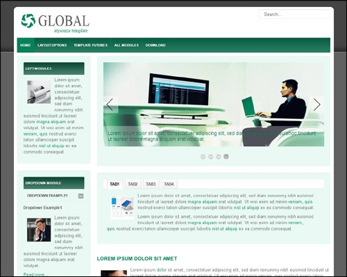 At_Global-free-business-green-joomla-template