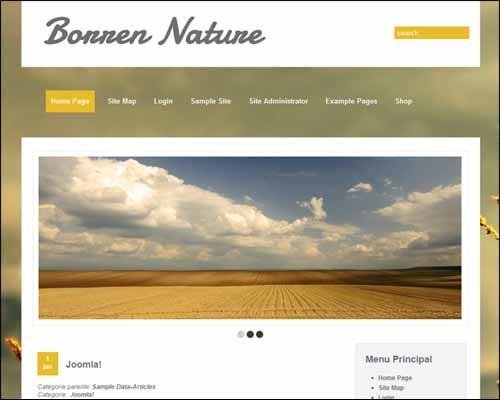 Borren_Nature_Free_Joomla_Template
