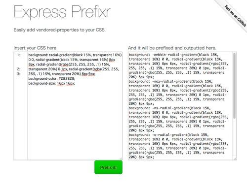 CSS3をお手軽・簡単にするCSS3関連ツール&ジェネレーター43