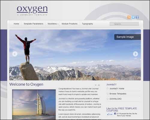 J51_Oxygen_Free_Joomla_Template