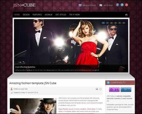 JSN_Cube_Free_Joomla_Template