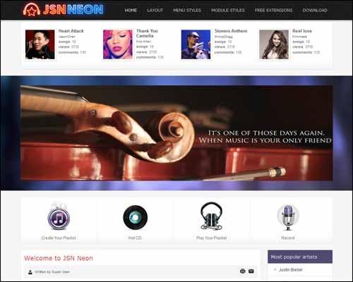 JSN_Neon_Free_Joomla_Template