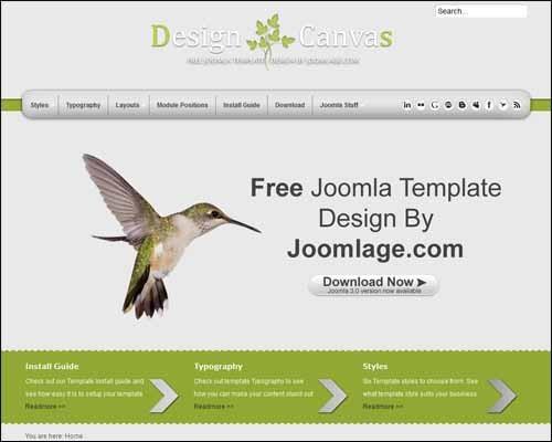 Joomlage_DesignCanvas_J3_Free_Joomla_Template