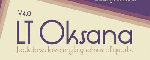 LT-Oksana-Font