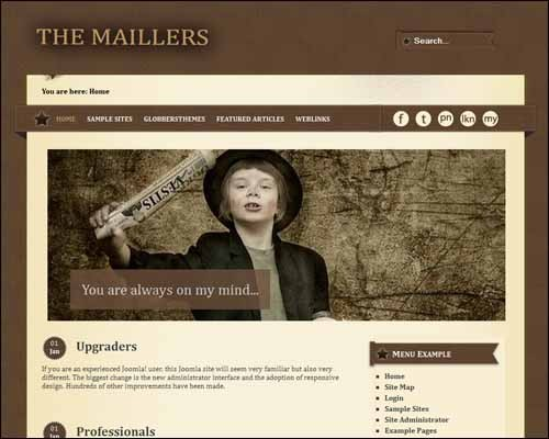 Maillers_2_Free_Joomla_Template