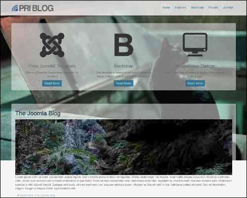 PRI_Blog_Free_Premium_Joomla_Template