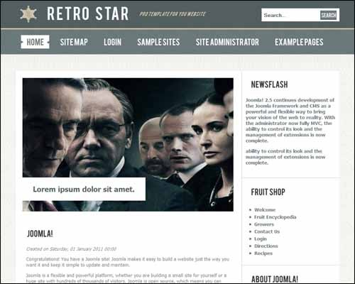 Retro_Star_2_Free_Joomla_Template