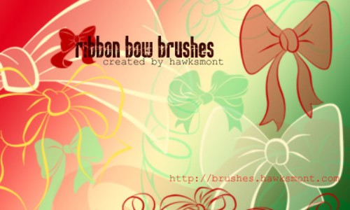 Ribbon_Bow_Brushes-christmas