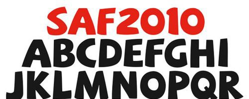 SAF-font