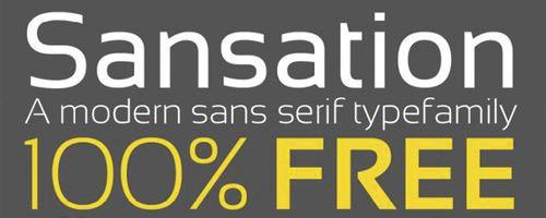 Sansation-font