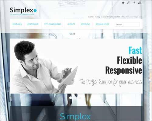 SimplexLite_Free_Joomla_Template