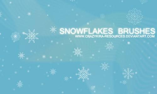 Snowflakes_Brushe-christmas