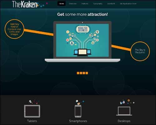 TheKraken-free-joomla-template