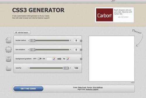 UsefulCSS3Generator