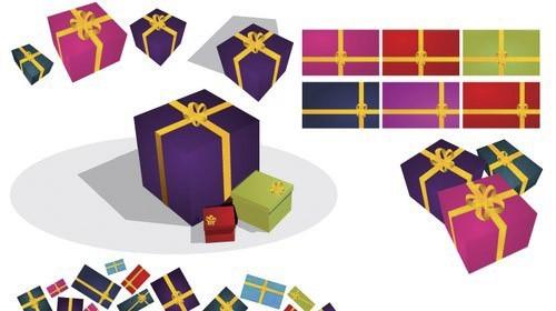 Vector-Gift-Presents-by-DragonArt-christmas