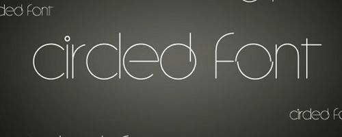 circuled-font