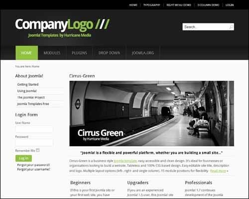 cirrus-green-free-joomla-template