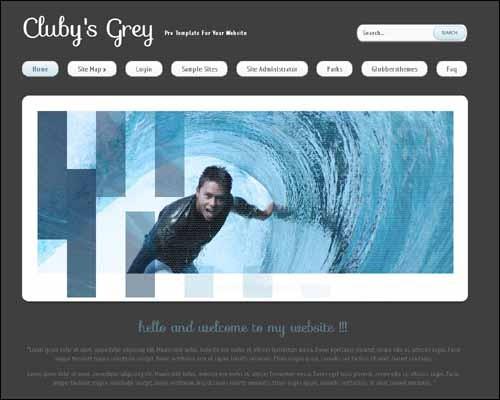 clubysgrey-free-joomla-template