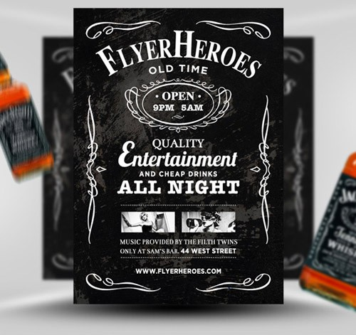 free-whiskey-flyer-template