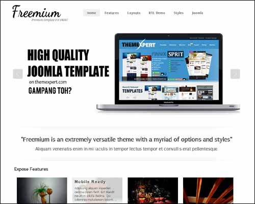 freemium-free-joomla-template