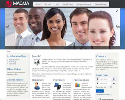 joomla-3-0-template-free-magma
