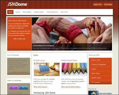 jsn-dome-free-joomla-template