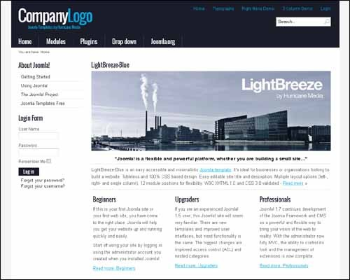 lightbreeze--blue-free-joomla-template