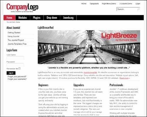 lightbreeze-free-joomla-template