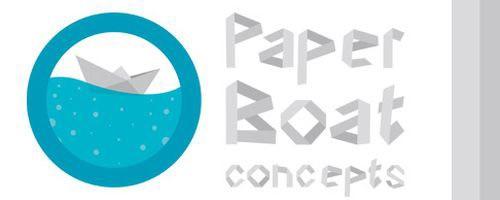 paper-boat-font