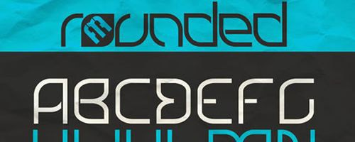 rounded-font