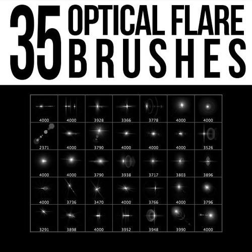 35_Optical_Flare_Brushes_590x590