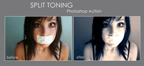 split-toning