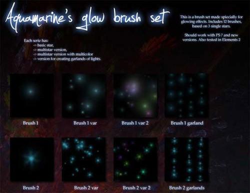stars-glow-brushes