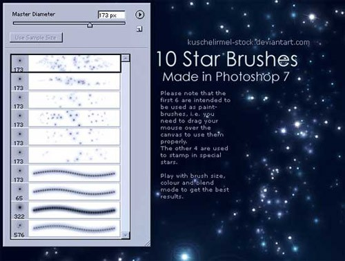 stars-ps-brushes