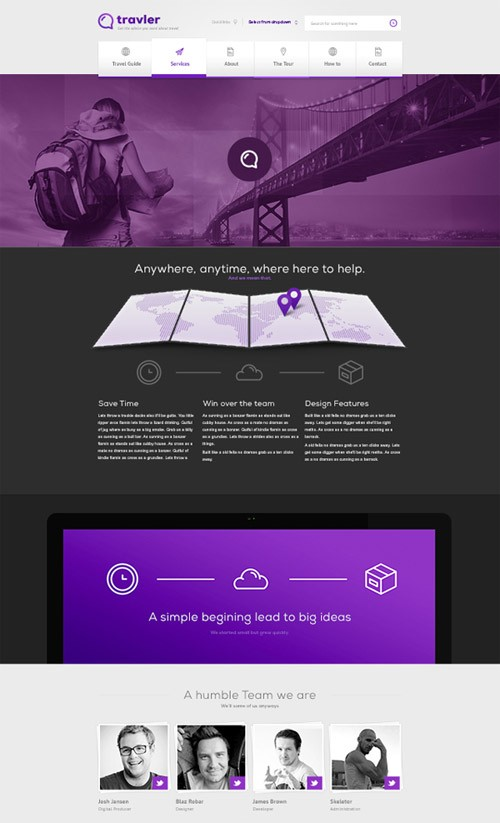 19-free-website-psd-templates
