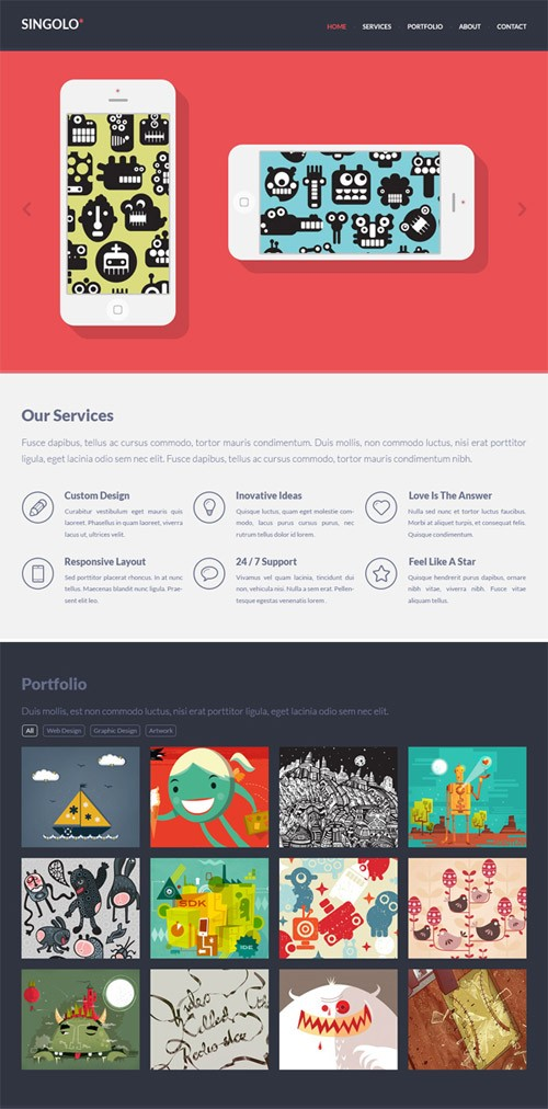 2-free-website-psd-templates