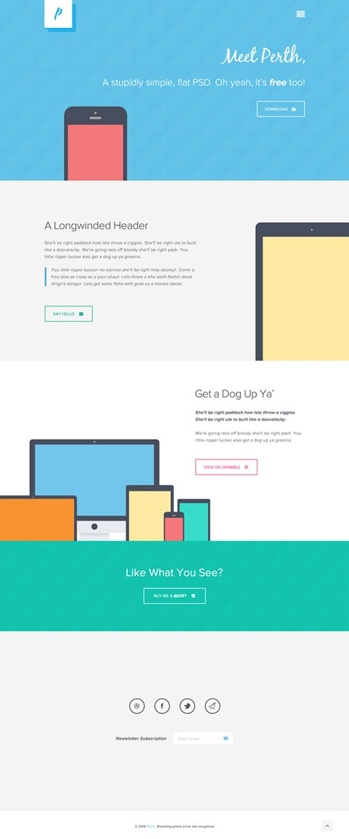 4-free-website-psd-templates