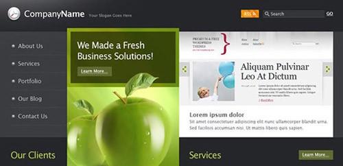 businessnewap-free-psd-website-template
