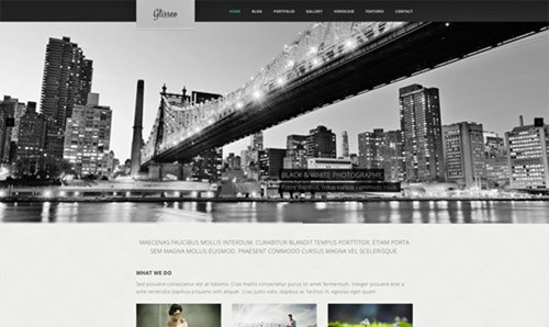 glisseo-free-psd-website-template
