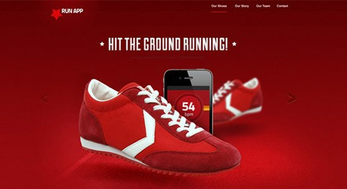 runningnewap-free-psd-website-template